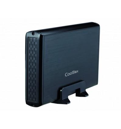 """Coolbox SlimChase 3531 Caja externa 3.5"""" USB 3.0 Negra"""