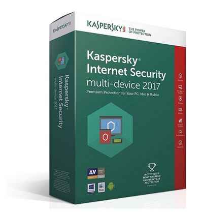 ANTIVIRUS KASPERSKY 2017 INTERNET SECURITY 2 LIC - AN01KS25