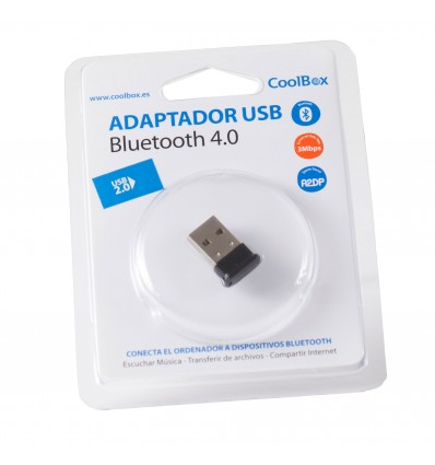 Adaptador Bluetooth 4.0 Coolbox