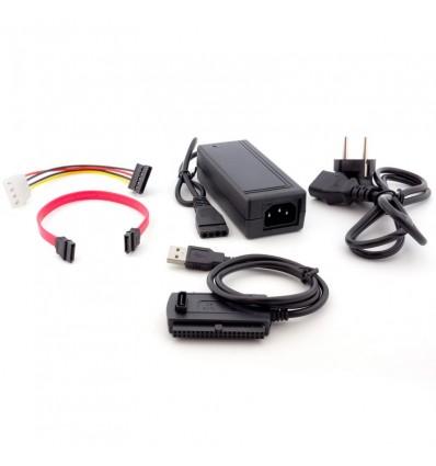 Adaptador Unotec USB para HD IDE y SATA