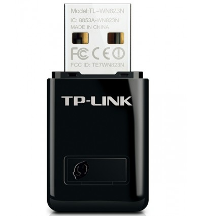 Tarjeta TP-Link TL-WN823N Mini USB Wireless 300MB