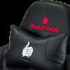 Bultaco Gaming Division Negra/Roja - Silla gaming