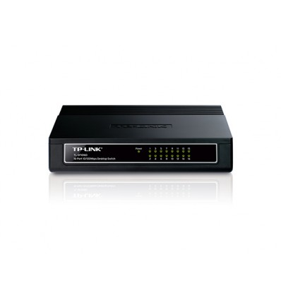 Switch TP-Link TL-SF1016D 16 Puertos 10/100
