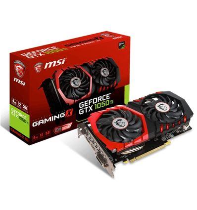 TARJETA GRAFICA MSI GTX 1050TI GAMING X 4GB DDR5 - TG01MS40