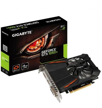 Tarjeta gráfica Gigabyte GTX 1050 Ti 4 GB DDR5