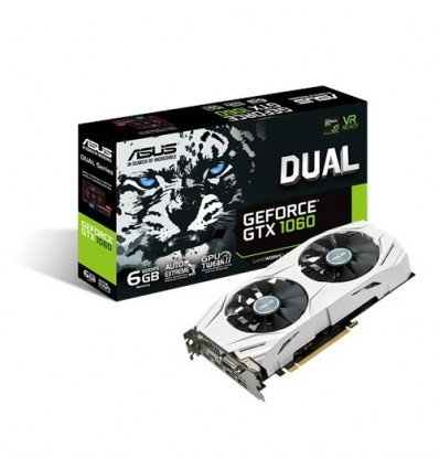 Tarjeta Gráfica Asus Dual GTX1060 6GB DDR5