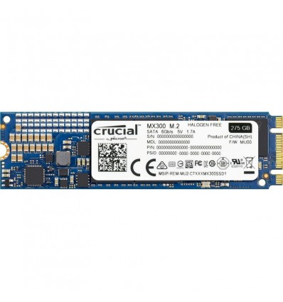 Disco SSD Crucial MX300 275GB M.2