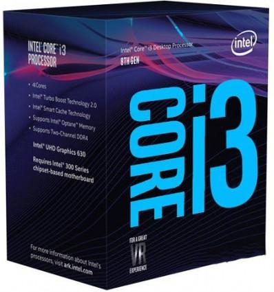 Intel Core i3-8100 - Procesador 3.6 GHz Socket 1151C