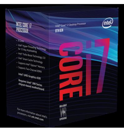 Intel i7-8700 3.2 Ghz - Procesador 1151C