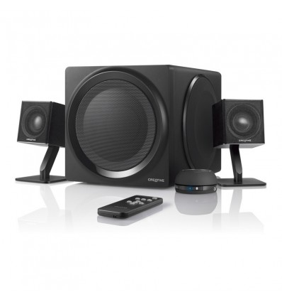 ALTAVOCES CREATIVE T4 WIRELESS 2.1 NEGRO