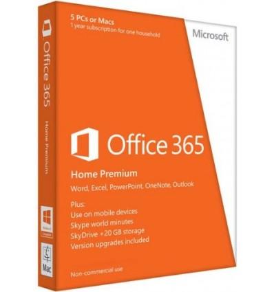 SOFTWARE MICROSOFT OFFICE 365 HOGAR
