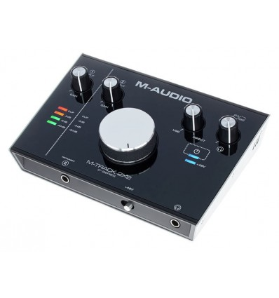 M-TRACK 2X2 INTERFACE AUDIO USB 2X2 24 BIT M-AUDIO