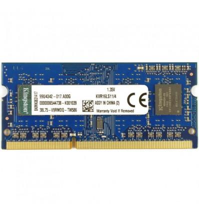 Kingston 4GB DDR3 1600 SODIMM KVR16LS11/4