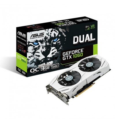 Asus Dual GTX 1060-O3G - Gráfica