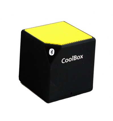 Coolbox Cube Bluetooth Amarillo