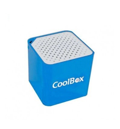 Coolbox Cube Mini Bluetooth Azul