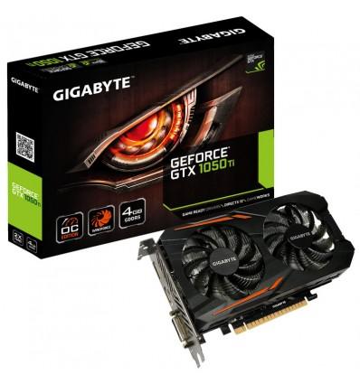 GRAFICA GIGABYTE GTX 1050 TI OC 4GB DDR5