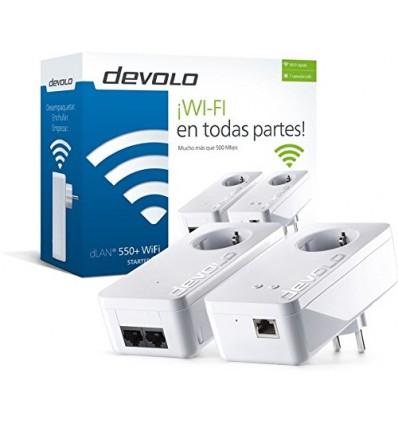 PLC DEVOLO DLAN 550+ WIFI STARTER KIT 9841
