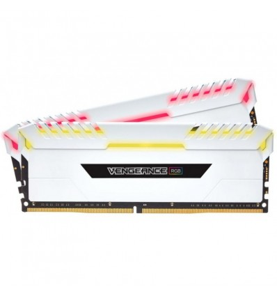 MEMORIA CORSAIR 32GB DDR4 3200 (2*16) RGB LED BLA