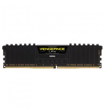 MEMORIA CORSAIR 16GB DDR4 2666 VENGEANCE LPX BLACK