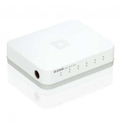 D-Link  GO-SW-5G - Switch 5 puertos 10/100/1000