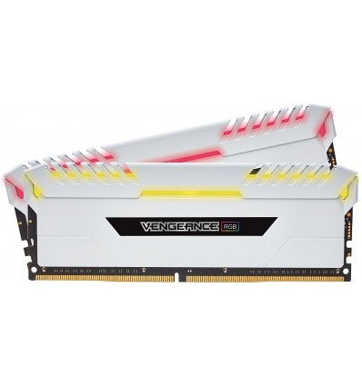 MEMORIA CORSAIR 16GB DDR4 3600 RGB LED BLANCA