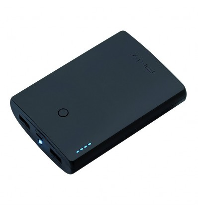 BATERIA MOVIL PNY POWERBANK CURVE 10400MAH NEGRO