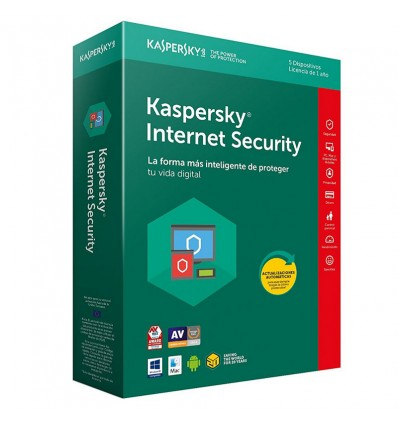 ANTIVIRUS KASPERSKY 2018 INTERNET SECURITY 5 LIC