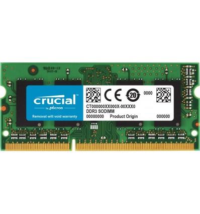 MEMORIA CRUCIAL 4GB DDR3 1333 SODIMM CT4G3S1339MC