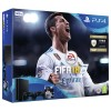 VIDEOCONSOLA SONY PS4 SLIM 500GB+2 MANDOS+FIFA18