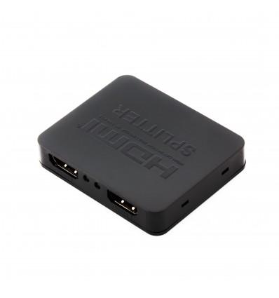 SPLITTER MINI HDMI 2X CALIDAD 4K