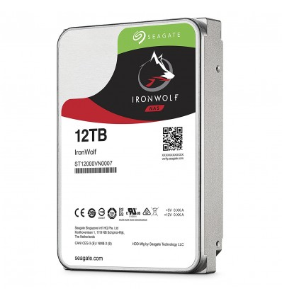 DISCO DURO SEAGATE 12TB IRONWOLF PRO ST12000VN007