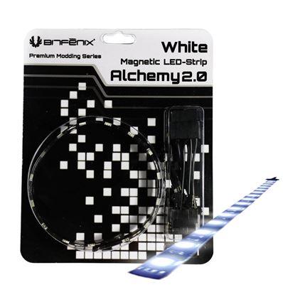 TIRA LED MAGNETICA BITFENIX ALCHEMY 2.0 30CM BLANC - LZ02BT06