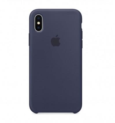 FUNDA APPLE IPHONE X SILICONE CASE MIDNIGHT BLUE