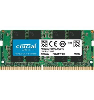 MEMORIA CRUCIAL 4GB SODIMM 2400 CT4G4SFS824A