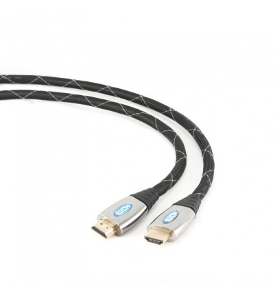 CABLE IGGUAL HDMI 4K 3D MALLADO GOLD 1.8 MTS