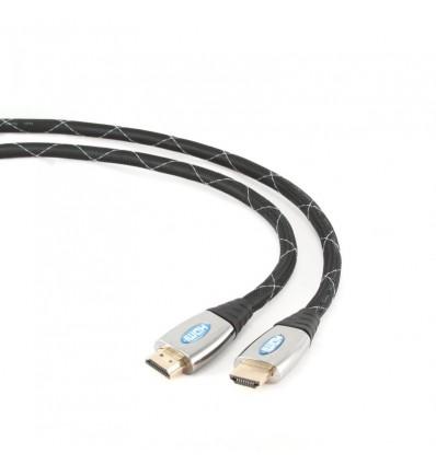 CABLE IGGUAL HDMI 4K 3D MALLADO GOLD 3.0 MTS