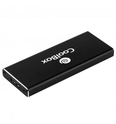 CAJA EXTERNA COOLBOX COO-MCAM2 M.2 A USB 3.0