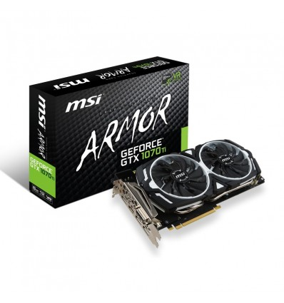 GRAFICA MSI GTX 1070TI 8GB ARMOR