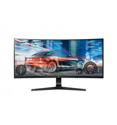"MONITOR LG 34"" 34UC89G-B CURVO REGULABLE EN ALTURA"