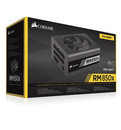 FUENTE ALIMENTACION CORSAIR RM850X 80+ GOLD - FA01CO16