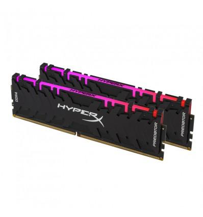 MEMORIA KINGSTON 16GB DDR4 2933 (2*8) HYPER X RGB
