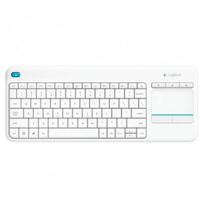TECLADO LOGITECH K400 PLUS TV WIRELESS BLANCO