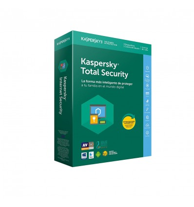 ANTIVIRUS KASPERSKY 2018 TOTAL SECURITY 2LIC