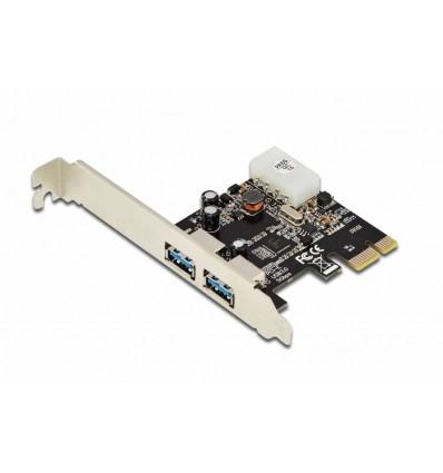 TARJETA EWENT PCI-EXPRESS 2 PUERTOS USB 3.0