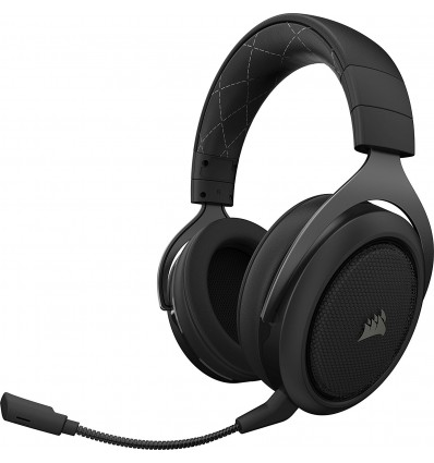 AURICULARES CORSAIR HS70 WIRELESS 7.1 CARBON