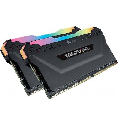 MEMORIA CORSAIR 16GB (2*8) DDR4 2666 RGB PRO