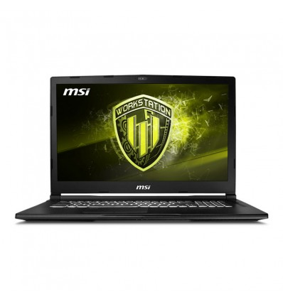 PORTATIL MSI WE73-080XES I7 8750 16GB 1TB+256SSD