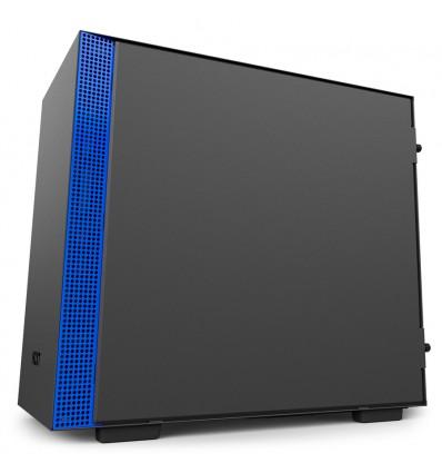NZXT H200i Negra y azul - Caja mini ITX