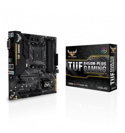 PLACA BASE ASUS TUF B450M-PLUS GAMING SOCKET AM4